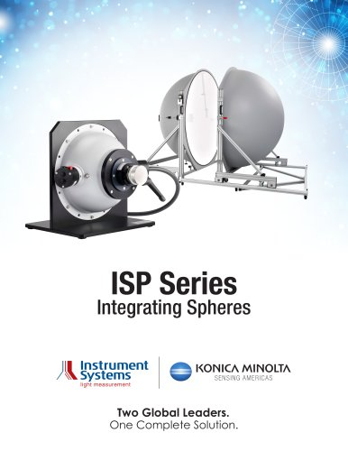 ISP Series Integrating Spheres