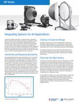 ISP Series Integrating Spheres - 5