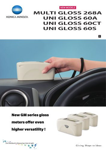 New GM series gloss