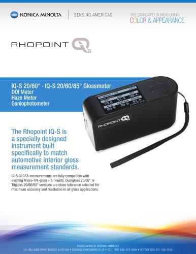 Rhopoint IQ-S