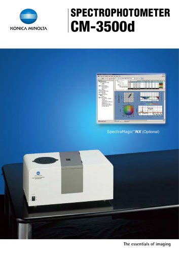 Spectrophotometers / Bench Top CM-3500d