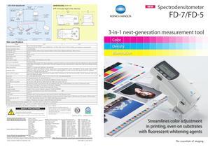 Spectrophotometers / Portable FD-7 - 1