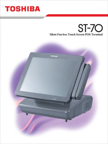 Silent Fan-less Touch Screen POS Terminal