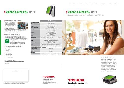TOSHIBA WILLPOS C10