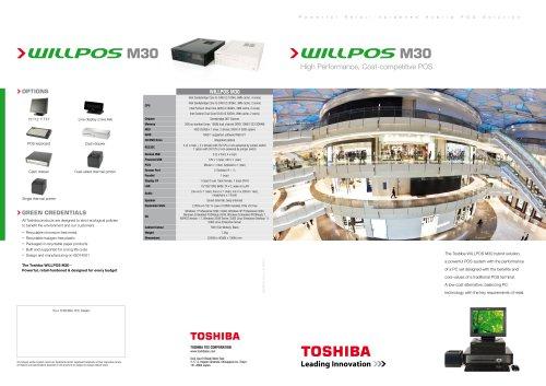 TOSHIBA WILLPOS M30