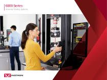 6800 Series Universal Testing Systems
