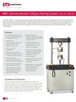 8801 Servohydraulic Fatigue Testing System