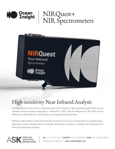 NIRQuest+ Spectrometer