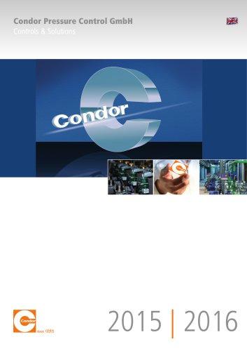 Main Catalog Condor Pressure Control 2015 / 2016