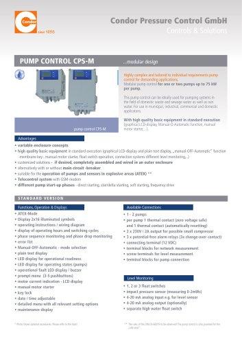PUMP CONTROL CPS-M