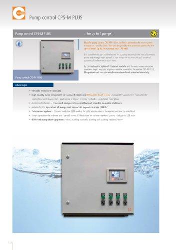 Pump control CPS-M PLUS
