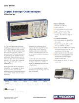 Digital Storage Oscilloscopes 2550 Series