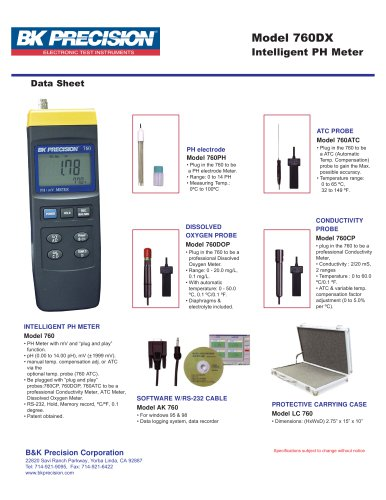 Intelligent pH Meter