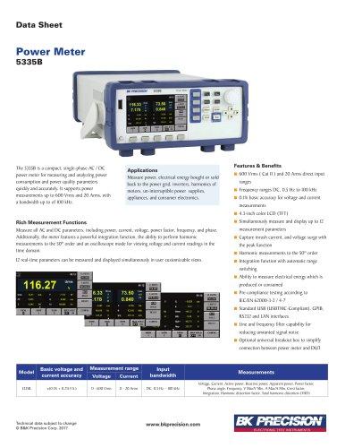 Power Meter Model 5335B