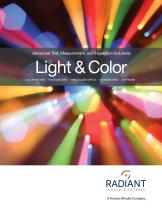 Radiant Product Catalog: Advanced Test, Measurement, and Inspection Solutions