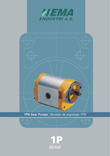 1P Series  Gear Pumps