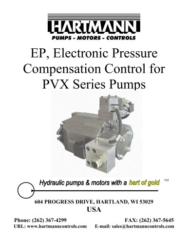 Electronic Pressure Control