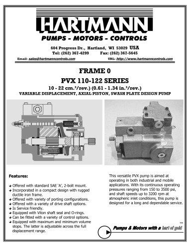 PVX 110-122 SERIES