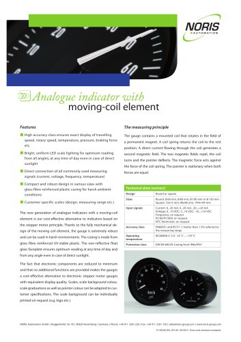 moving-coil element