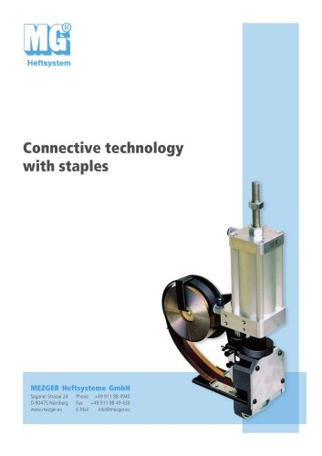 Connective technology with staples
