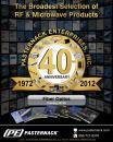 Catalog 2012A - Fiber Optic Components