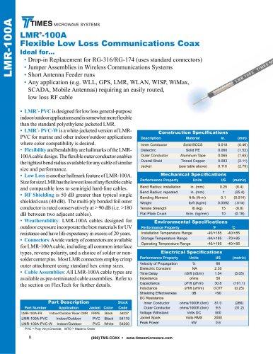 LMR ® -100A