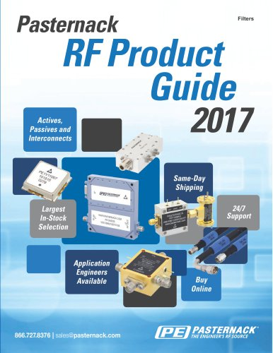 RF Filters Catalog Pasternack