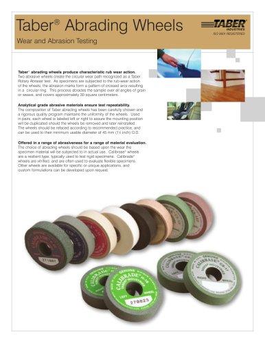 TABER Abrading Wheels (for Taber Abraser)
