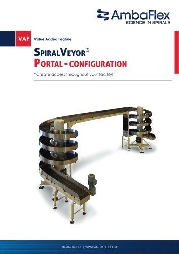 SpiralVeyor®portal-configuration