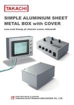 ALUMINIUM PROJECT BOX - T series