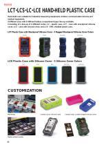 EMC Shielded Hand-held Plastic Case - LCE series