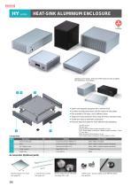 Heat-sink Aluminium Enclosure - HY series