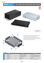 Heat-sink Rack Mounting Enclosure - HYR・HYRH series