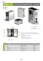 IP65 Wall Mount Stainless Steel Box - SLM・SLB series