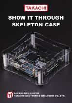 SKELETON ACRYLIC CASE - SKL series