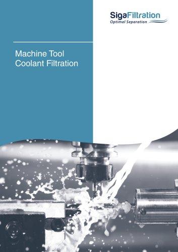Machine Tool Coolant Filtration