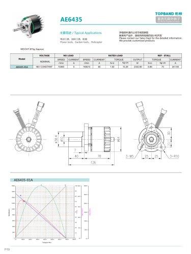 TOPBAND-Brushless DC MOTOR-AE6435