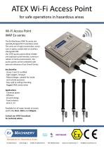 Explosion proof ATEX WiFi Access Point