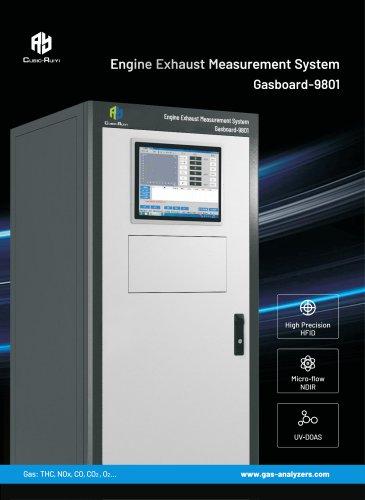 Engine Exhaust Measurement System Gasboard-9801