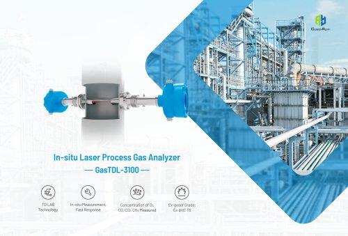 In-situ laser process gas analyzer GasTDL-3100