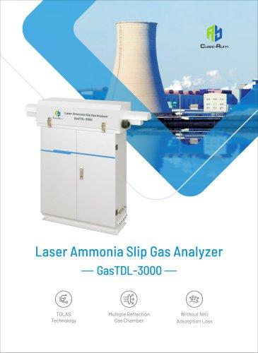 Laser Ammonia Slip Gas Analyzer GasTDL-300