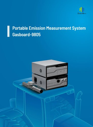 Portable Emission Measurement System(PEMS) Gasboard-9805