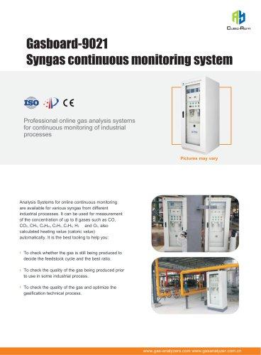 Ruiyi Gasboard-9021AB System specifications