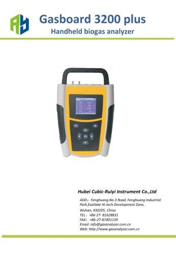 Ruiyi Handheld Infrared Biogas Analyzer – Gasboard 3200 plus