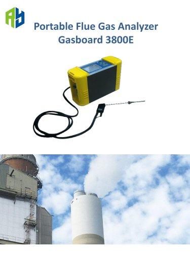 Ruiyi Portable flue gas analyzer Gasboard 3800E