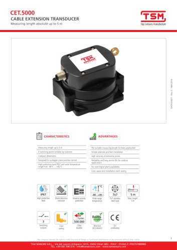 CET5000 - Switch