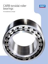 CARB toroidal roller bearings - A revolutionary concept