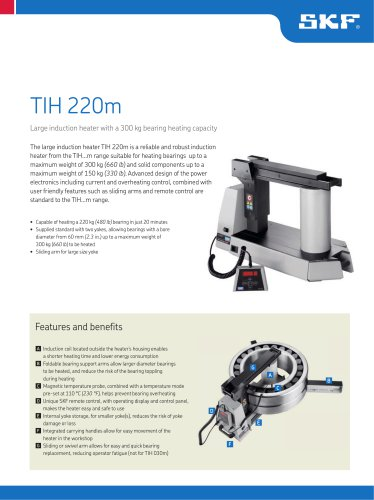 Large induction heater TIH 220m