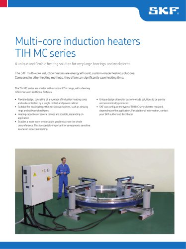 Multi-core induction heaters, TIH MC series