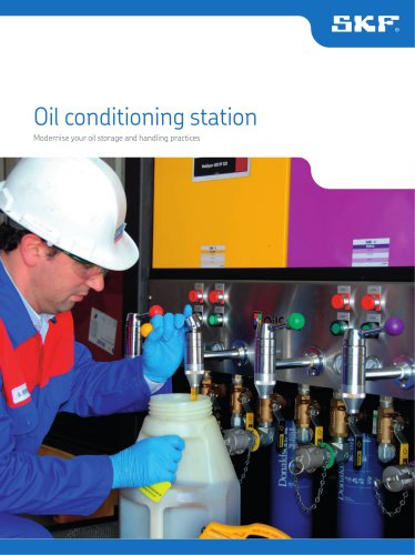 Oil conditioning station